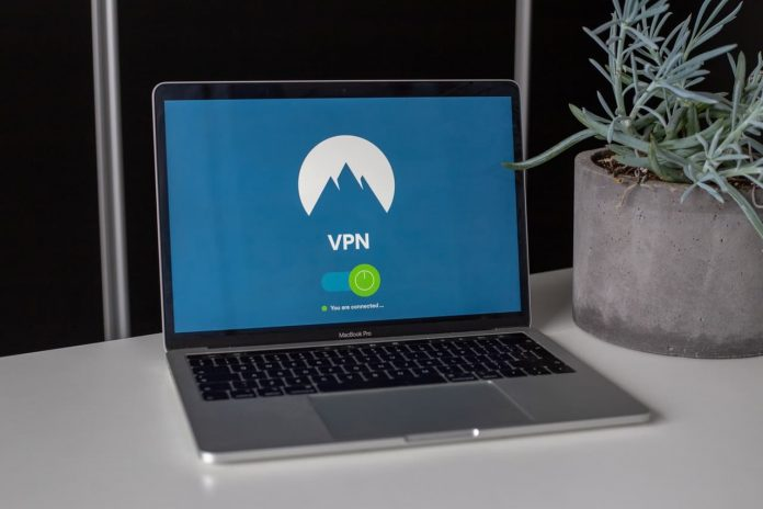 VPN op laptop