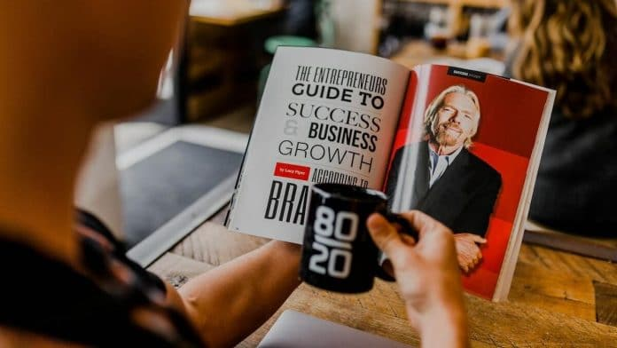 Magazine met Richard Branson