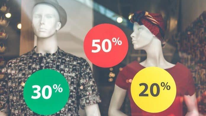 sale 20 30 50 procent