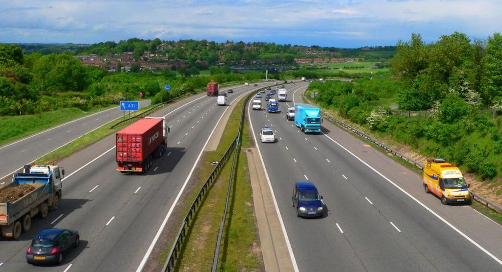 auto zakelijk en privé gebruiken snelweg