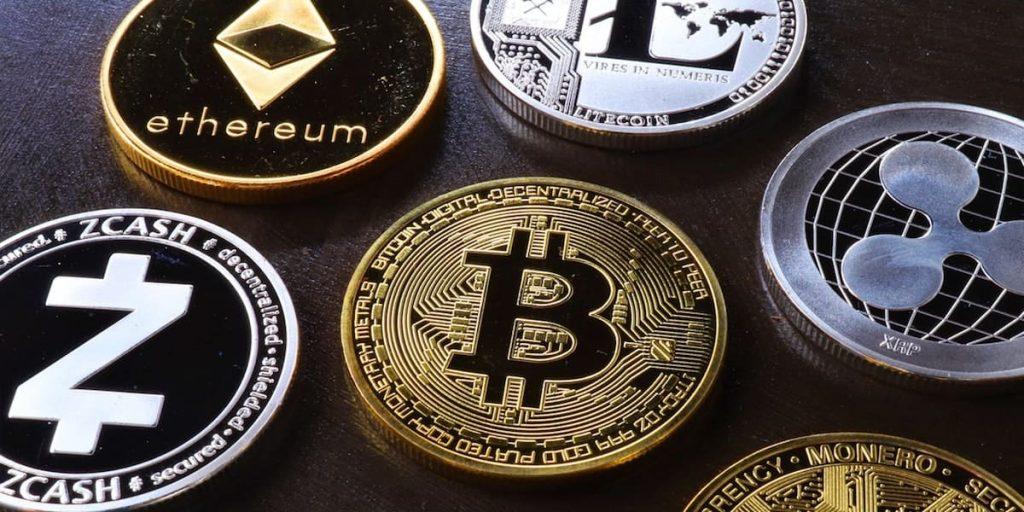 Bitcoin, ethereum, litecoin