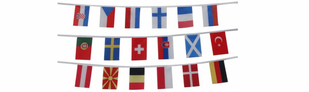 EK vlaggen vlaggenclub